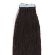 """16""""18""""20""""22"""" 24"""" Tape - In Real Human Hair Extensions Straight 17 Colours 20pcs Beauty Hair Style"""