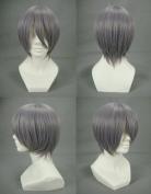 Xcoser Vampire Knight Zero Kiryuu Grey Anime Wig For Cosplay