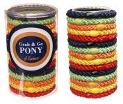 L. Erickson Grab & Go Pony Tube - Preppy