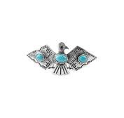 Kitsch Thunderbird Bun Pin, Silver, 5ml