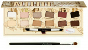 theBalm NUDE 'tude Eyeshadow Palette w/ Twinbeauty Classic Eyeshadow Brush