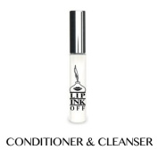 LIP INK OFF - Natural Organic Makeup Cleanser and Remover Vial