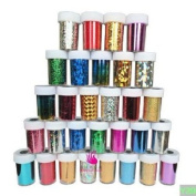 Newest Fashion 25 colours Nail Art Transfer Foil Nail Sticker Tip Decoration from Y2B