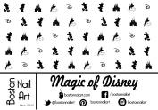 Magic of Disney Waterslide Nail Decals - 50PC