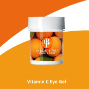 "Vitamin C Eye Gel *Premium Eye Cream w/ Peptides, cucumber extract, hyaluronic acid & MSM. DIY Facial Mask Treatment"" *Contains OVER .150ml ~ almost 15% more than leading brands *La Beauté Pure ~ Simply the Best"