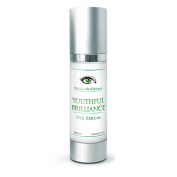 Youthful Brilliance - Eye Serum for men and women. Use this Best-selling eye cream with ARGIRELINE. Reduces dark circles, Bags, Wrinkles and puffiness. Hydrate, and Moisturise your eyes. Great opal sea serum replacement. Best Father's Day Gift.