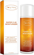 22% Vitamin C Face Moisturiser with 20% Hyaluronic Acid, 2.5% Niacinamide and 2.5% CoQ10 - 50ml
