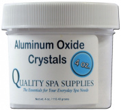 Aluminium Oxide Crystals - Microdermabrasion Crystals - 120 Grit, Pure White, 120ml