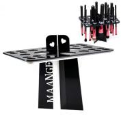 BESTOPE® Collapsible Air Drying Makeup Brush Organising Tower Tree Rack Holder Cosmetic Holder Tool Bag
