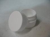 Lip Balm Containers - 5ml White Plastic Lip Balm Jars w/lids, 12 Pack
