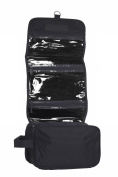 Hanging Toiletry Cosmetics Travel Bag, Black by BAGS FOR LESSTM