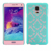 ABC(TM) Fashion Cute Carved Damask Vintage Pattern Hard Case Cover For Samsung Galaxy Note 4