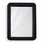 13cm X 18cm Magnetic Locker Mirror - Real Glass - School or Home