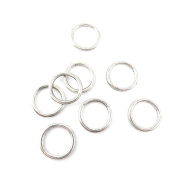 Qty 230 Pieces Ancient Silver Jewellery Making Charms Findings O0489 Jump Rings 19mm Bulk for Bracelet Necklace