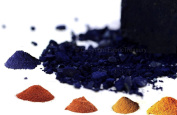Natural Dye. Set of 5 - Indigo, Alkanet, Indian Madder, Cutch and Lac. 100ml each.