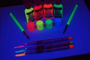 Tulip Blacklight Reactive Electric Neon Colour Kit