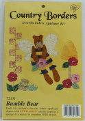 Country Borders Iron-On Fabric Appliqué Kit