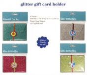 Glitter Gift Card Holder Box For Wedding, Shower, Reception, Birthday