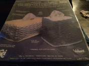 Vintage 1982 Quick 'n' Easy Crochet Kit - Create A Long or Square Tissue Box Cover