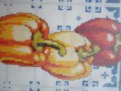 Peppers Counted Cross Stitch 13cm x 30cm Design Cross Stitch Kit