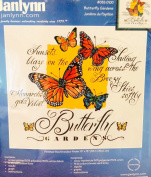 Butterfly Gardens Embroidery Kit