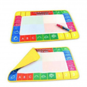 Juanshop Water Drawing Painting Writing Board Mat Magic Pen Children Kids Toys Xmas Gift