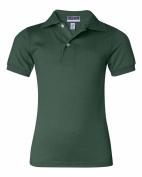 Jerzees Youth 170ml, 50/50 Jersey Polo with SpotShield