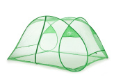 SpeedTent Portable Foldable Mosquito Net Tent Insect protection nets Anti-Bug Net 3~4 Person net tents DarkGreen