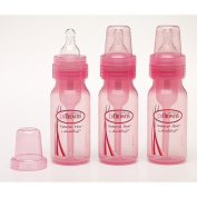 Dr. Browns Baby Bottle, 120ml, 6-Count - Pink