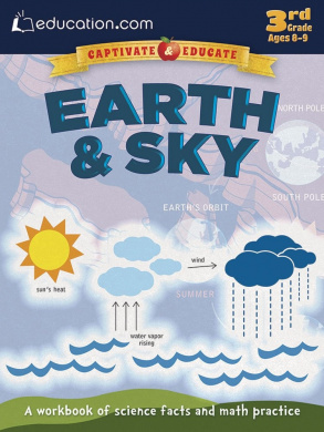 Earth & Sky: A workbook of science facts and math practise