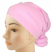 Pre-Tied Knotted Head Wrap Scarf