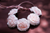Cinderella's Shop® Festival Boho Hippy Hair Head Band/ Rose Crown/hair Accessory/corsage