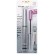 L'Oreal Telescopic Clean Definition & Lengthening Mascara, Black Brown 930