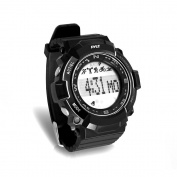 Pyle PSPTR19BK Multi-Function Sports Wrist Watch/Sleep Monitor/Pedometer Step Counter/Stop Watch, Black