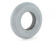 200 x 50 Solid Foam-Filled Tyre - Ribbed Tread - Primo Spirit