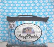 """'NUGGLEBUDDY NEW! Microwavable Moist Heat & Aromatherapy Organic Rice Pack. Cosy Flannel, SO Adorable """"GUPPY"""" Fabric with SEA LAVENDER Aromatherapy or UNSCENTED! The Perfect Gift Idea! USPS Priority Express Shipping Available!"""
