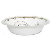 Symphony Paper Dinnerware, Heavyweight Bowl, 350ml, Tan, 1000/Carton HB12-J8001CT