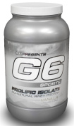 G6 Sports - Prolific Isolate All-Natural Whey Protein Vanilla - 1.1kg.
