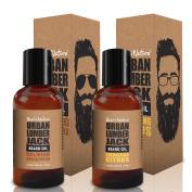 Urban Lumberjack Beard Oil & Conditioner 2-Pack
