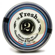 The Fresh Man Beard Balm - Spearmint and Eucalyptus - Essential Oil Scented Beard Conditioner Beard Balm by The 2Bits Man 60ml