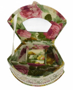 High Grade Makeup Powder Box Cosmetics Organisers Jewels Casket Beautiful Home Decoration with Mirror