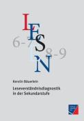 Leseverstandnisdiagnostik in Der Sekundarstufe
