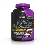Cutler Nutrition Total Protein Muscle Building Sustain Protein Powder, Chocolate Brownie, 2.3kg