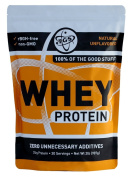 TGS Nutrition 100% Whey Protein, Natural Unflavored, 0.9kg