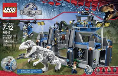 Lego 174 Jurassic World Indominus Rex Breakout 75919 By Lego