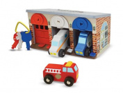 Melissa & Doug Lock & Roll Rescue Garage