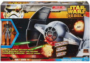 Star Wars Inquisitor's TIE Advanced Prototype Starfighter Vehicle and The Inquisitor Figure