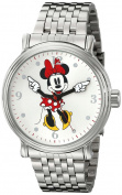 Women's Disney Minnie Mouse Shinny Vintage Articulating Watch with Alloy Case - Silver