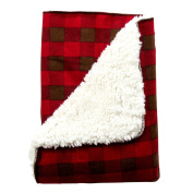Trend Lab Northwoods Buffalo Cheque Receiving Blanket