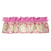 Window Valance Trend Lab Pink Elephants